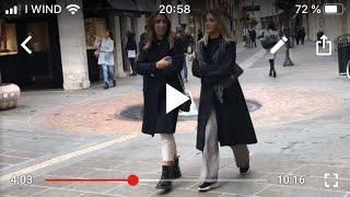 Италия модные итальянцы и витрины итальянских магазинов