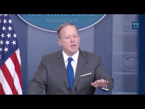 Sean Spicer Tells Reporter Not to Interrupt Other Reporter, Not His Press Briefing