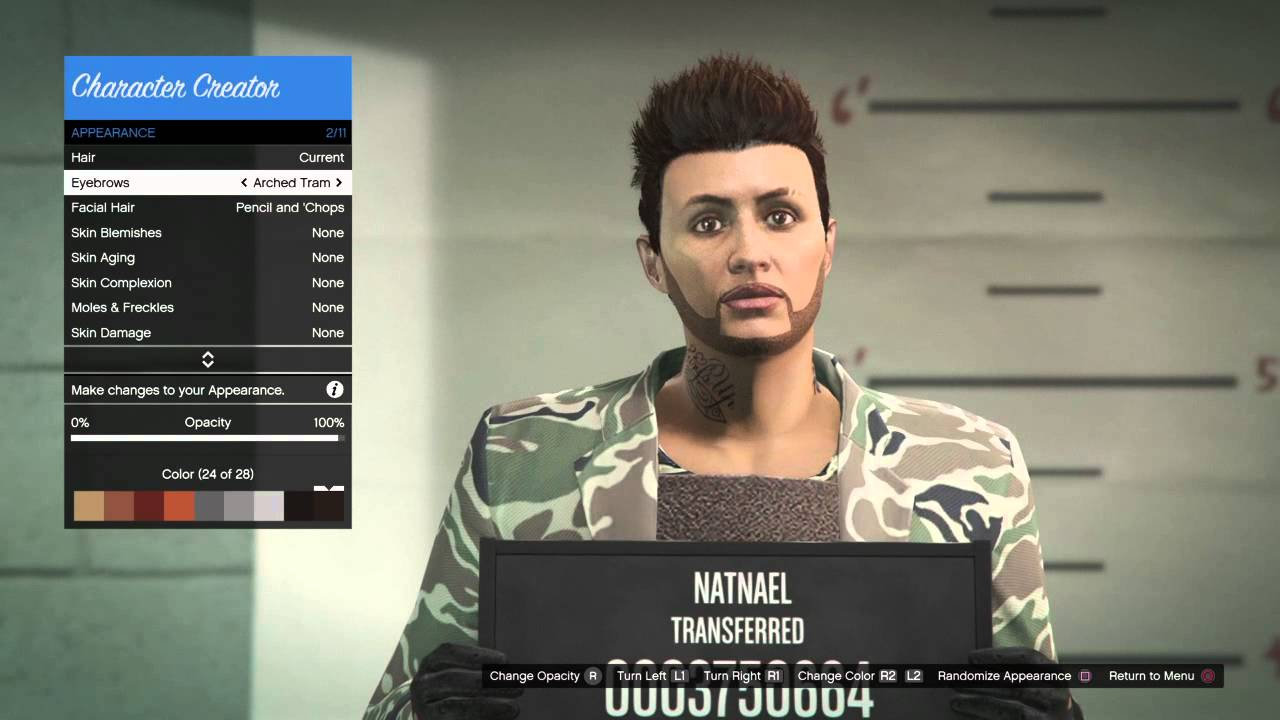 Gta 5 Online  How To Make A Great Looking Male Character -4299