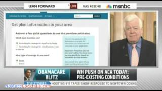 Rep. Jim McDermott blames lack of education and press for Obamacare failures