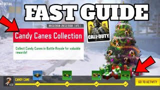 How to Collect Candy Canes Quickly! Call Of Duty Mobile Christmas Battle Royale Update!