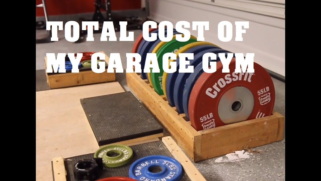 Cost of my garage gym pandos barbell club youtube