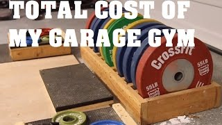 Cost of my Garage Gym ? | Pandos Barbell Club(This is my Powerlifting Journey. Training with only the best equipment available in my Garage Gym. And stay tuned for In depth Product Reviews. Follow Me on ..., 2015-12-09T03:00:43.000Z)