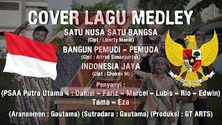 Cover lagu satu nusa satu bangsa   bangun pemudi pemuda   Indonesia jaya
