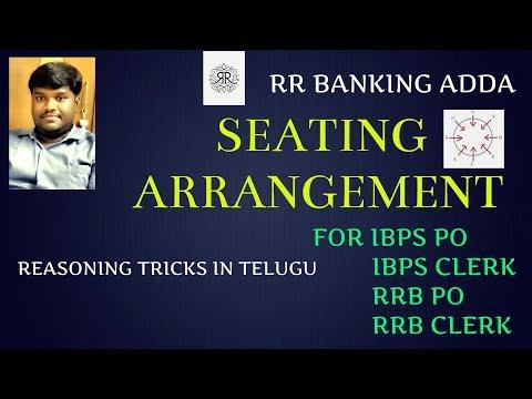 Seating arrangement || Circular Arrangement Part 1 || Reasoning in Telugu