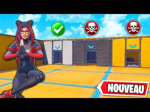 New ! Escape Game HardCore , Allez vous Sortir Vivant ! Fortnite Créatif
