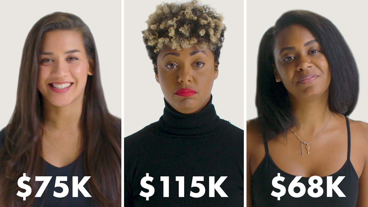 Women with Different Salaries on Donating to Charity | Glamour