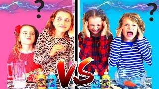 TWIN TELEPATHY SLIME CHALLENGE!!! SIS VS BRO style ft The Norris Nuts