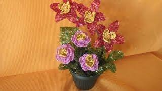 Композиция  цветов   «Весеннее   настроение»  Урок  №1