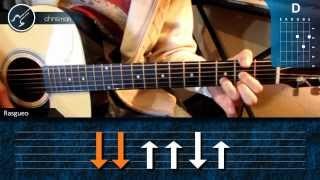 """Cómo tocar """"A las Nueve"""" de NTVG en Guitarra (HD) Tutorial Acordes - Christianvib"""