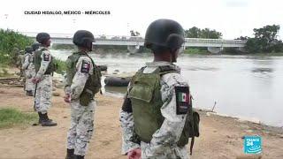 Guardia Nacional Mexicana captura a cerca de 95 migrantes