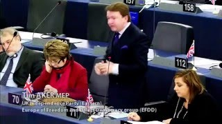 Reaping the consequences of a shocking foreign policy - Tim Aker MEP