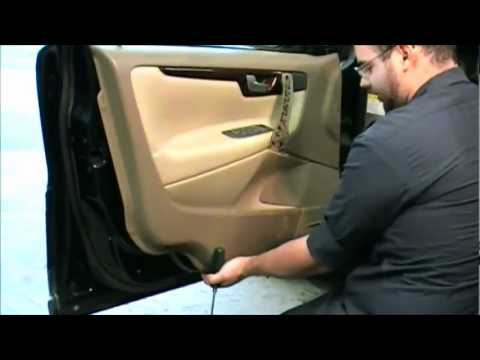 How To Remove A Volvo S60 S80 V70 Door Panel Youtube