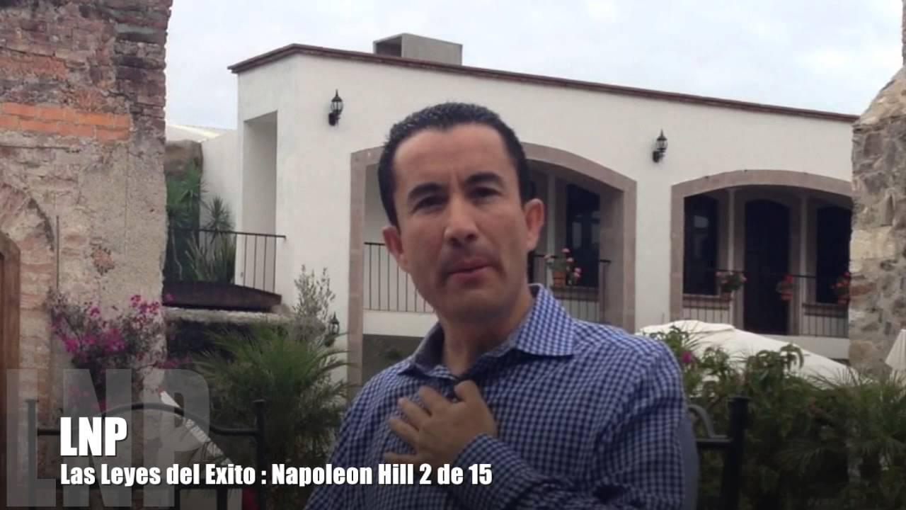 260 Las leyes del exito de Napoleon Hill :  2 de 15 por Luis R Landeros