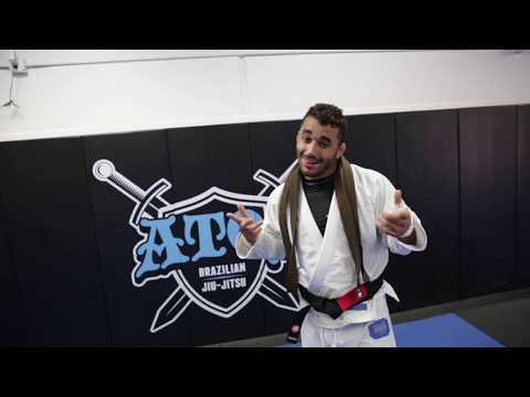 black belt promotion of Michael Perez form Prof. Andre Galvao
