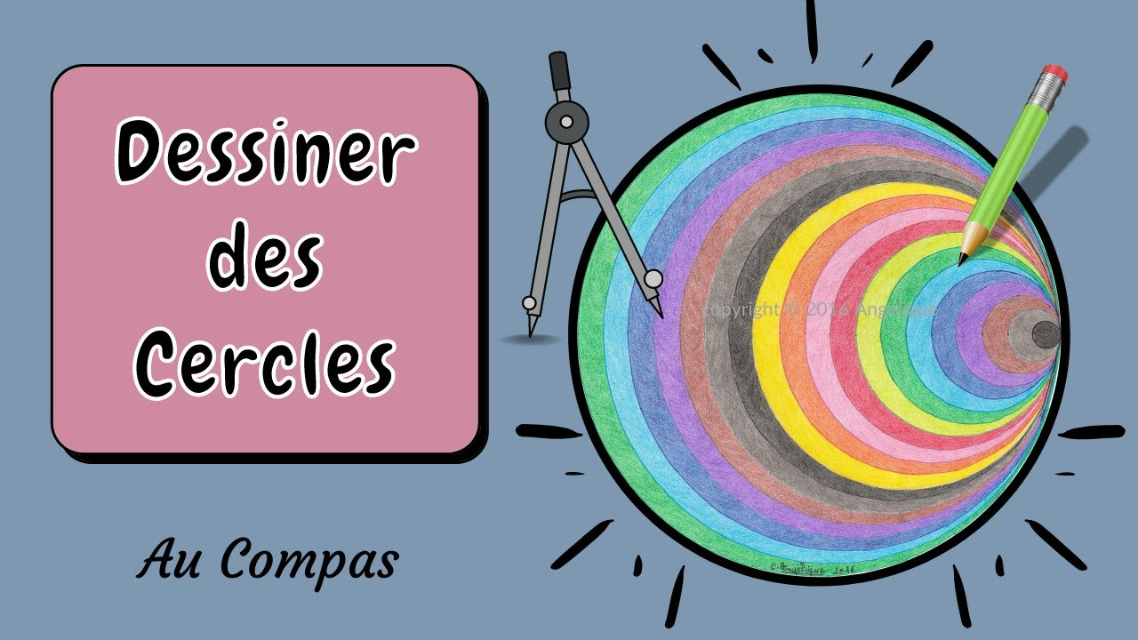 Drawing with compass 8 the multicolored circle youtube - Dessin de faire l amour ...