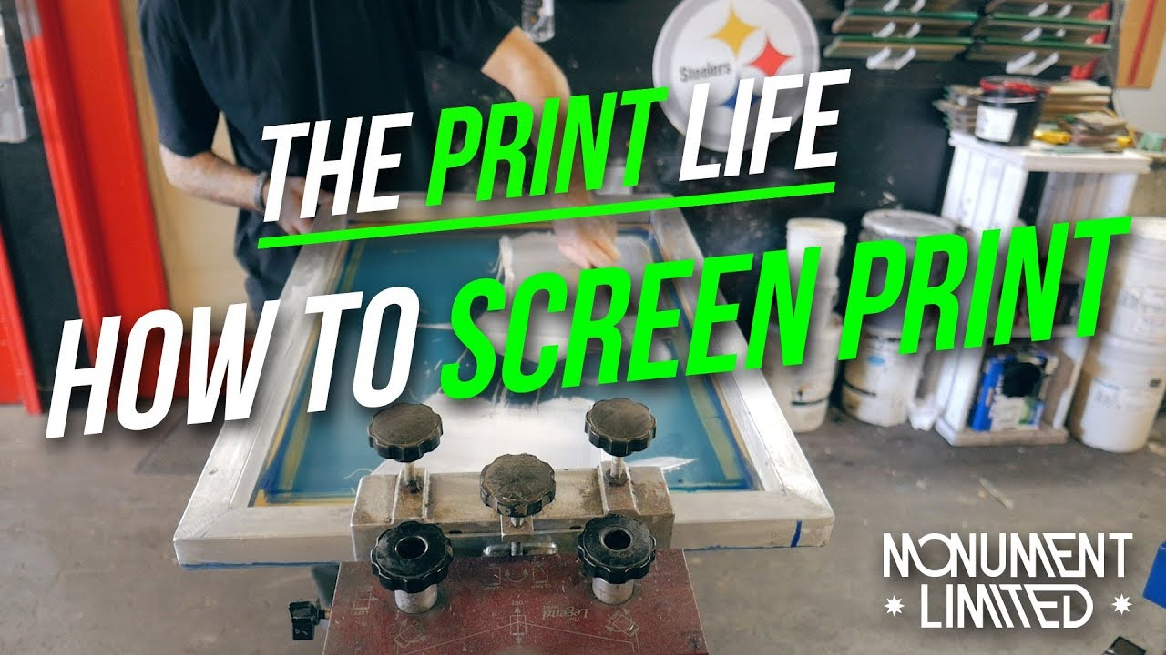 fb95e65e How To Screen Print Smooth Plastisol Ink Tutorial   client screen print job  feature