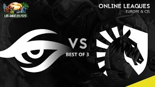 Team Secret vs Team Liquid Game 2 | ESL One Los Angeles Online: EU & CIS