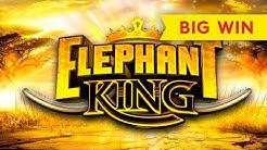 Elephant King Slot - BIG WIN BONUS!