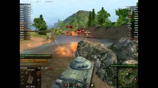 ИС 3 - танкуем бортом
