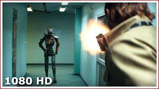 Чаппи мстит за смерть Мамы | Крутой момент | Робот по имени Чаппи (2015)