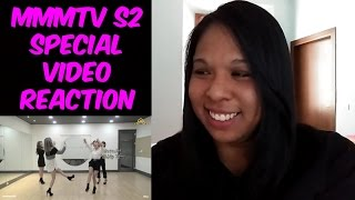 REACTION   MMMTV S2 Special Video - MAMAMOO(마마무) Decalcomanie Dance Point