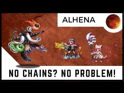Alhena VS CG Sakura & Explorer Aileen | Chow, Noctis, Ayaka, Soleil, Ace, & Eiko | FFBE