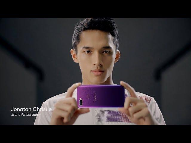 OPPO F9 Starry Purple | Jonatan Christie #PurpleObsession Story