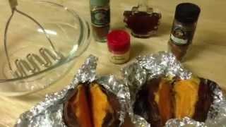 Mashed Maple Sweet Potatoes