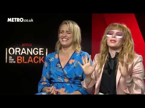 Taylor Schilling and Natasha Lyonne  with Metro UK