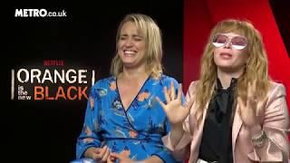 Oitnb (orange is the new black) uk promo - metro interview