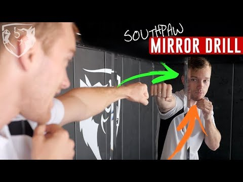 Mirror Drill: Understanding Southpaw Angles
