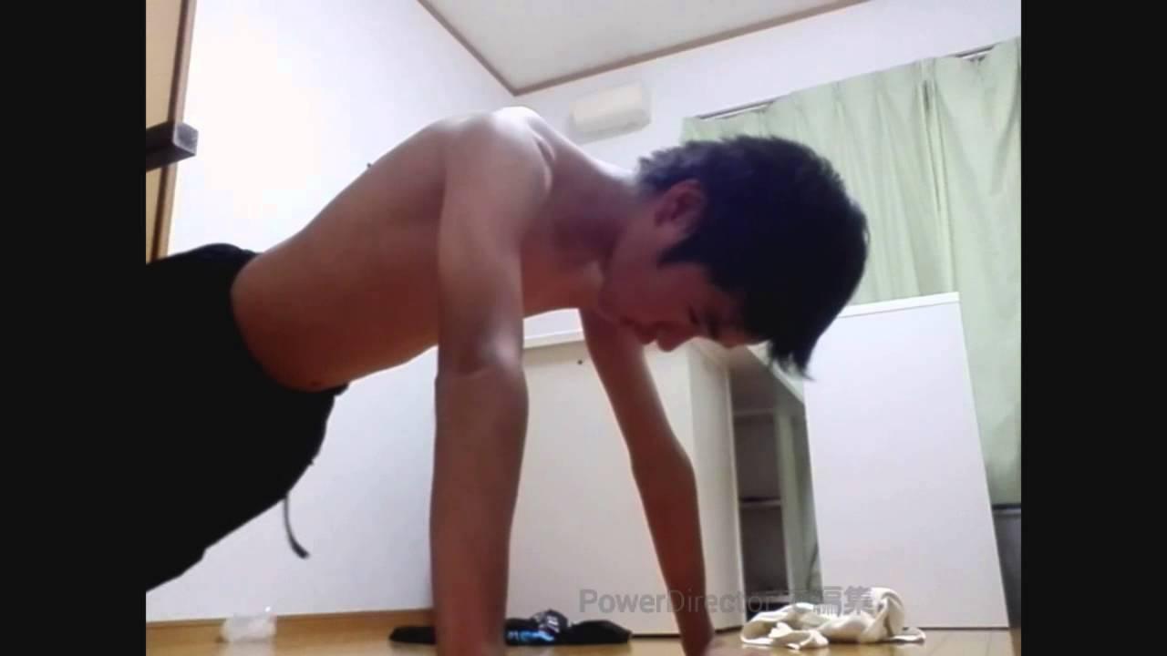 腹筋 ガリガリ