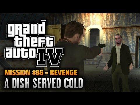 GTA 4 - Mission #86 - A Dish Served Cold [Revenge] (1080p)