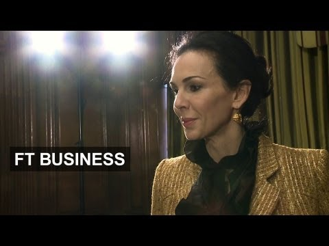 L'Wren Scott makes London fashion debut
