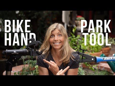 Bike Hand vs Park Tool - Bike Stand Reviews