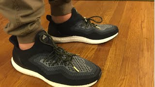 on foot review uncaging and lacing gradient adidas ultra boost uncage ultraboost uncaged
