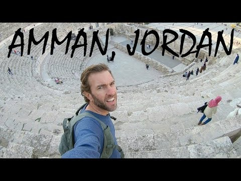 Amman, Jordan: Tour From My Hotel to Ancient Roman Ruins