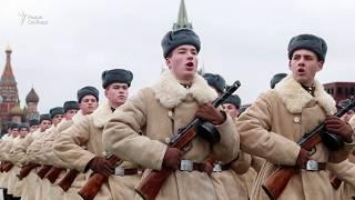 Исторический парад в Москве / Новости