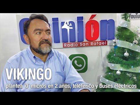 'Vikingo' plantea cero micros en 2 años, teleférico y buses eléctricos