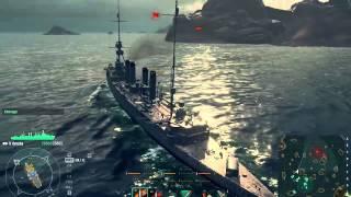 World Of Warships. Обзор + геймплей.