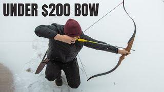 A SOLID RECURVE bow for under $200 (SAS Maverick Recurve)