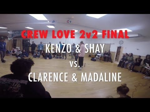 The FLooridians | CREW LOVE 2v2 | FINAL - KENZO & SHAY vs. CLARENCE & MADALINE