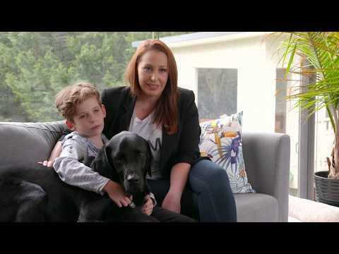 Introducing dogs for kids with disabilities