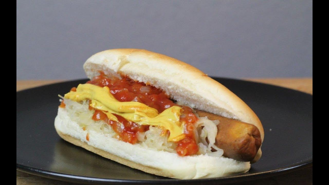 new york hot dog rezept der bio koch 579 youtube. Black Bedroom Furniture Sets. Home Design Ideas