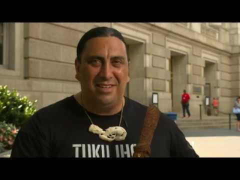 Māori delegation takes Māori culture to the Smithsonian National Museum of Natural History