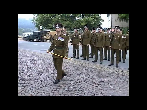 British Army Royal Engineers Freedom of the City of Hameln Parade Open Day Wouldham 2004 Part 1