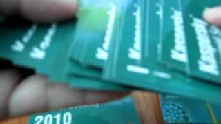 Original Kaspersky Internet Security 2011 Scratch Card