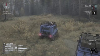 Lets play - Spintires Mudrunner (Seashore Hardcore)
