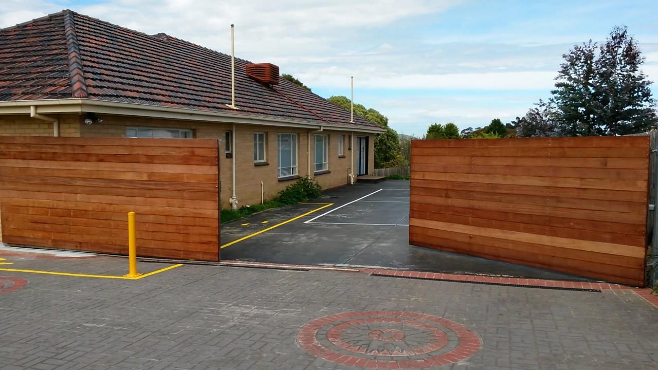 Wooden Sliding Gates